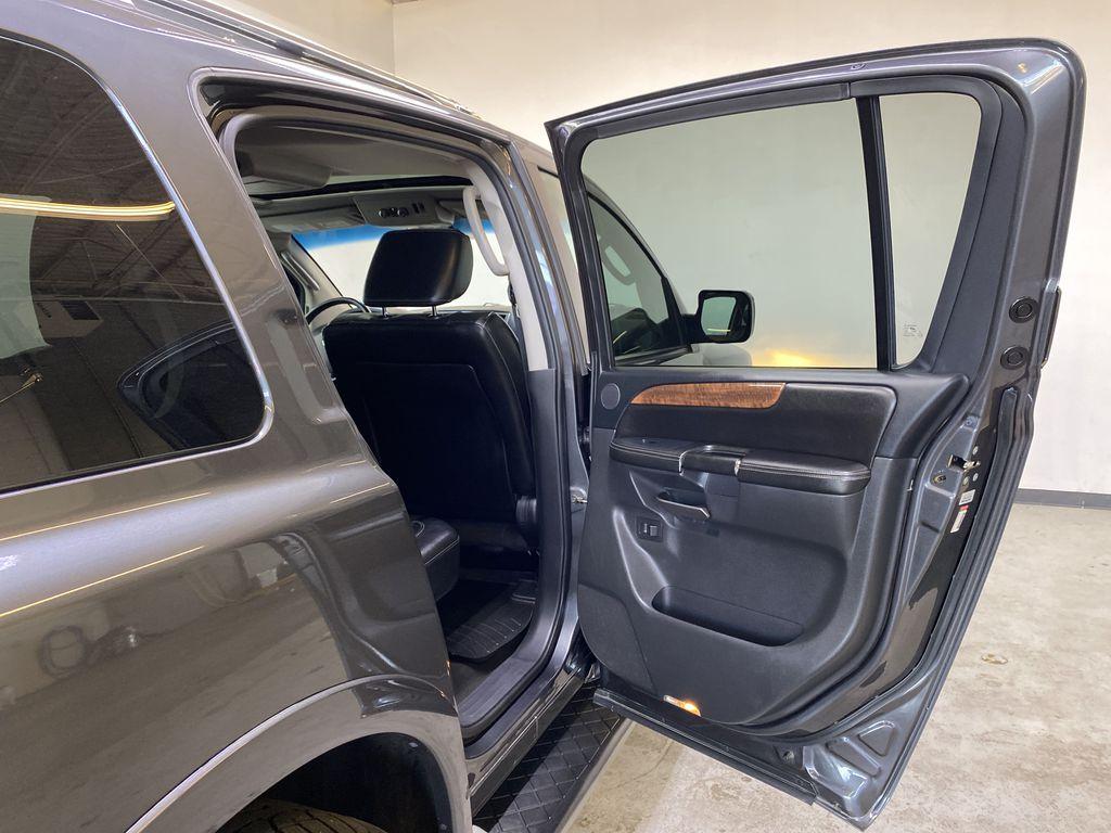 GREY 2012 Nissan Armada Platinum - Backup Camera, Navigation, Remote Start Right Rear Interior Door Panel Photo in Edmonton AB