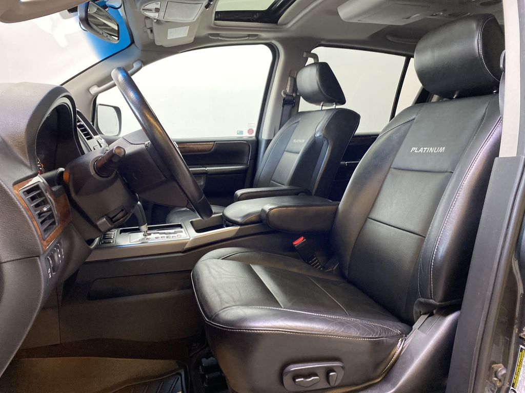 GREY 2012 Nissan Armada Platinum - Backup Camera, Navigation, Remote Start Left Front Interior Photo in Edmonton AB