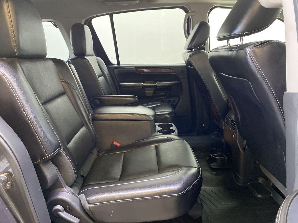 GREY 2012 Nissan Armada Platinum - Backup Camera, Navigation, Remote Start Right Side Rear Seat  Photo in Edmonton AB