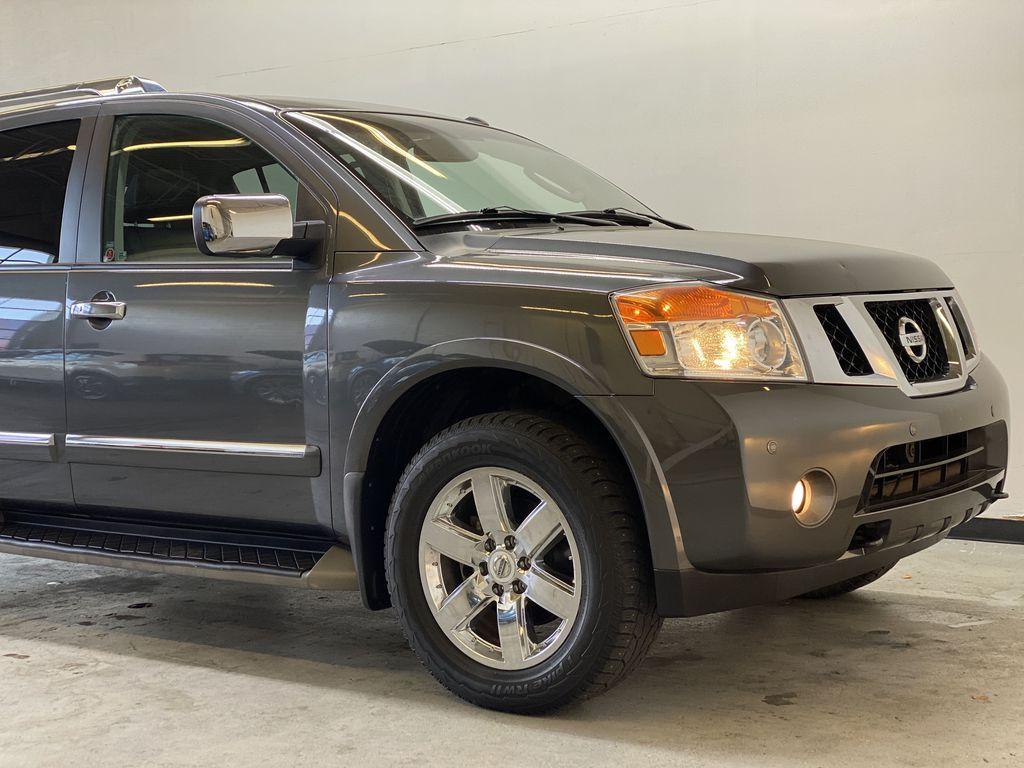 GREY 2012 Nissan Armada Platinum - Backup Camera, Navigation, Remote Start Right Front Corner Photo in Edmonton AB