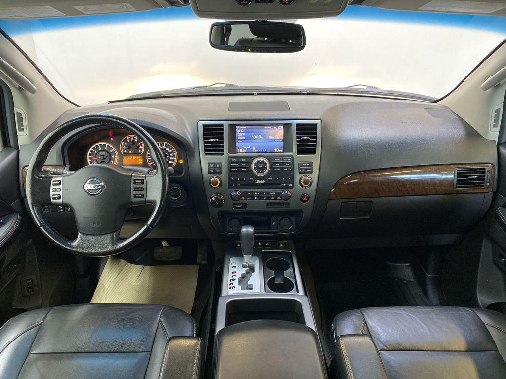 GREY 2012 Nissan Armada Platinum - Backup Camera, Navigation, Remote Start Strng Wheel/Dash Photo: Frm Rear in Edmonton AB