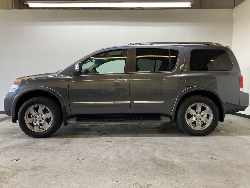 GREY 2012 Nissan Armada Platinum - Backup Camera, Navigation, Remote Start Left Side Photo in Edmonton AB