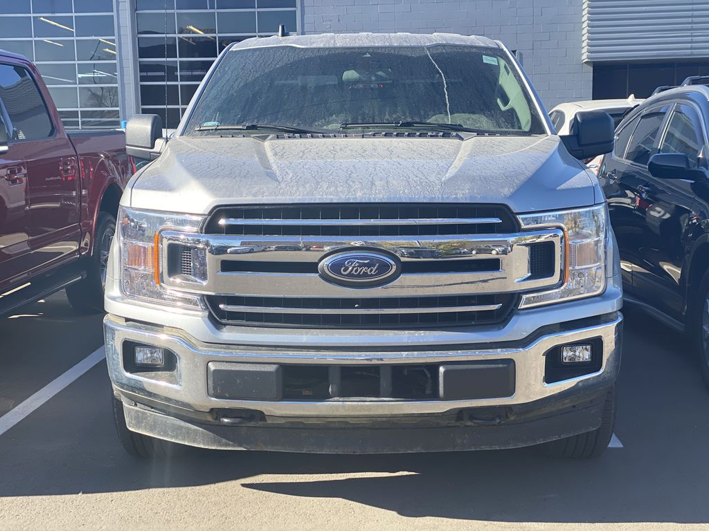 SILVER 2020 Ford F-150 XLT Left Front Corner Photo in Edmonton AB
