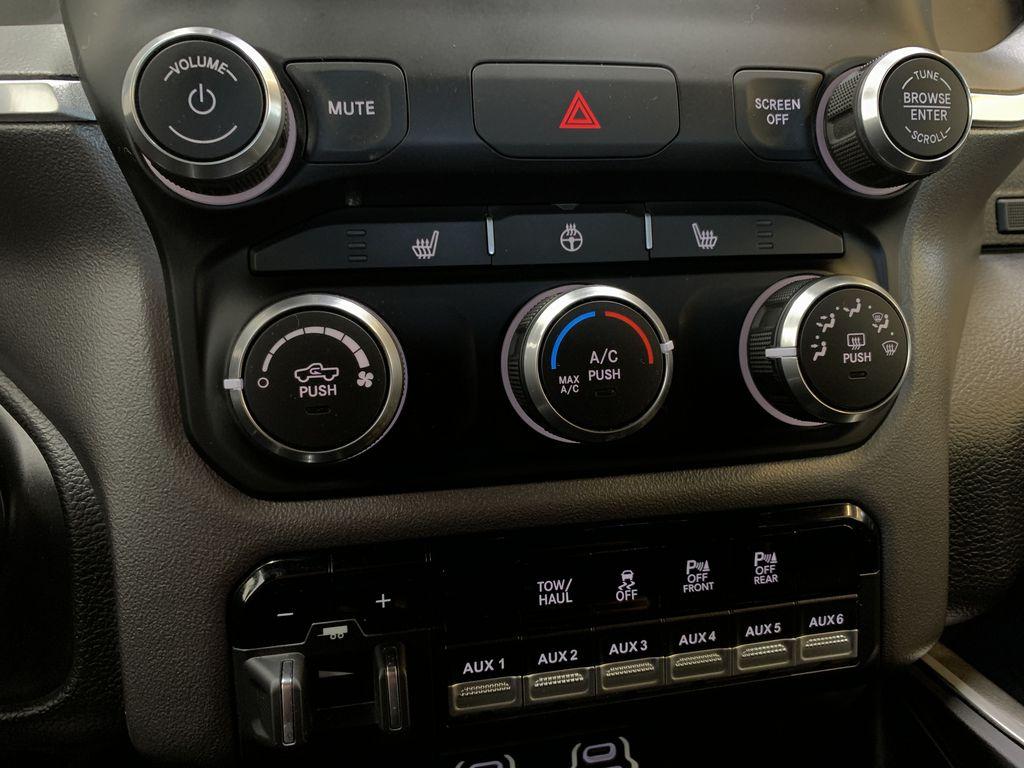 BLACK 2019 Ram 3500 Big Horn - Bluetooth, Remote Start, Backup Cam, Apple CarPlay, XM Central Dash Options Photo in Edmonton AB