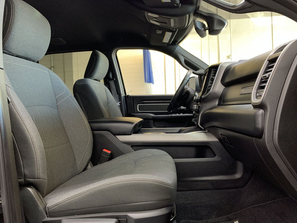 BLACK 2019 Ram 3500 Big Horn - Bluetooth, Remote Start, Backup Cam, Apple CarPlay, XM Right Side Front Seat  Photo in Edmonton AB