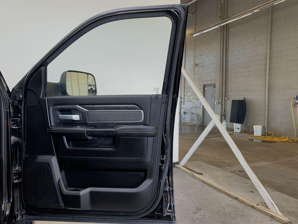 BLACK 2019 Ram 3500 Big Horn - Bluetooth, Remote Start, Backup Cam, Apple CarPlay, XM Right Front Interior Door Panel Photo in Edmonton AB