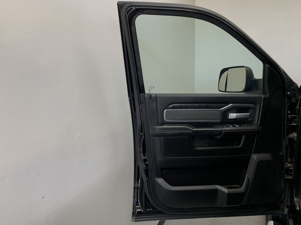 BLACK 2019 Ram 3500 Big Horn - Bluetooth, Remote Start, Backup Cam, Apple CarPlay, XM Left Front Interior Door Panel Photo in Edmonton AB