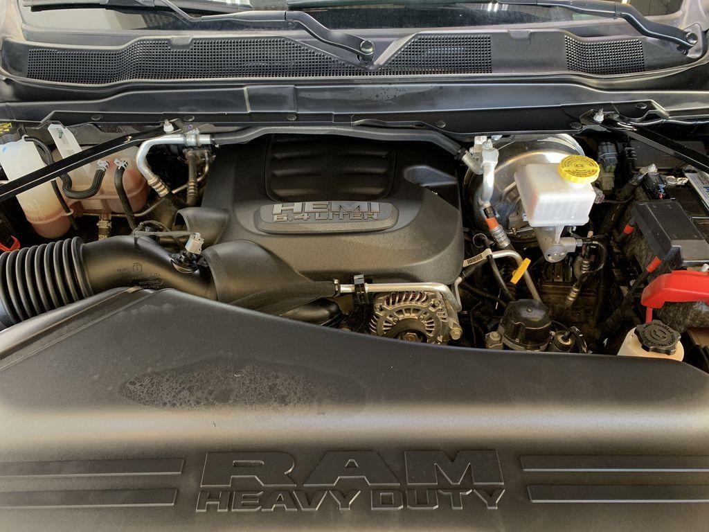 BLACK 2019 Ram 3500 Big Horn - Bluetooth, Remote Start, Backup Cam, Apple CarPlay, XM Engine Compartment Photo in Edmonton AB