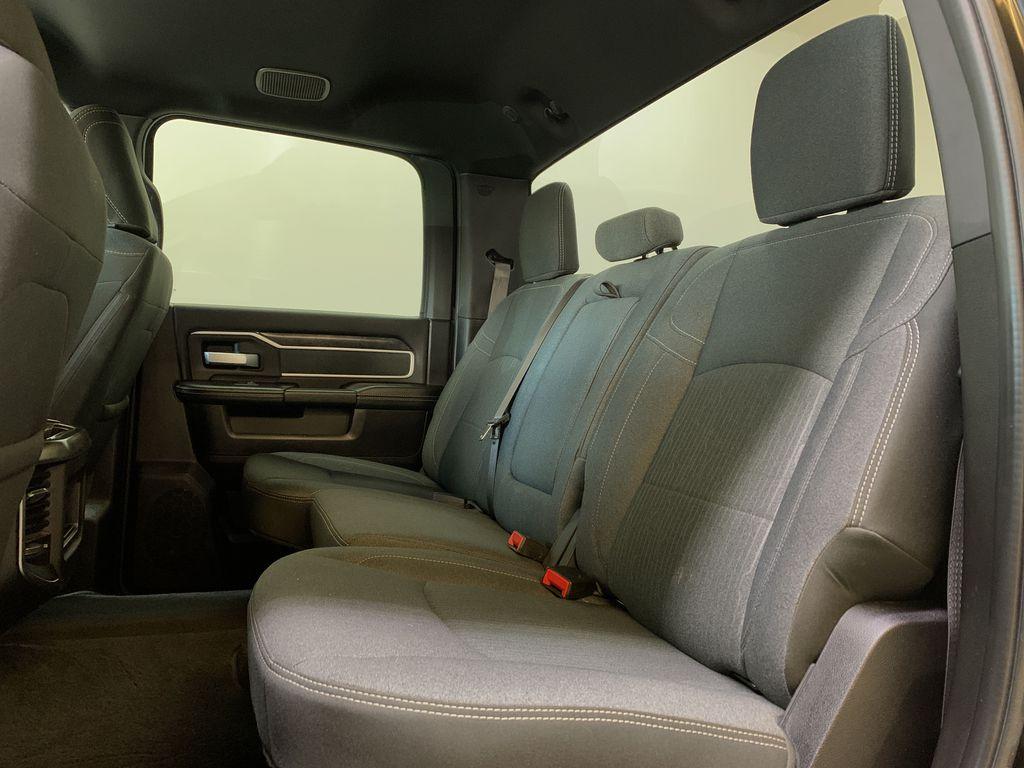 BLACK 2019 Ram 3500 Big Horn - Bluetooth, Remote Start, Backup Cam, Apple CarPlay, XM Left Side Rear Seat  Photo in Edmonton AB