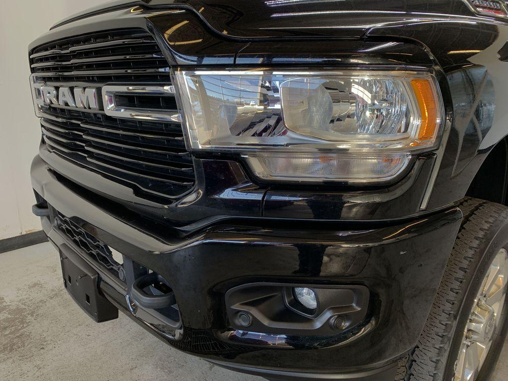 BLACK 2019 Ram 3500 Big Horn - Bluetooth, Remote Start, Backup Cam, Apple CarPlay, XM Left Front Head Light / Bumper and Grill in Edmonton AB