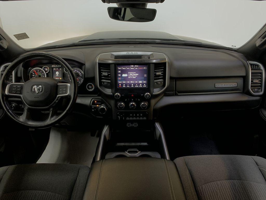 BLACK 2019 Ram 3500 Big Horn - Bluetooth, Remote Start, Backup Cam, Apple CarPlay, XM Strng Wheel/Dash Photo: Frm Rear in Edmonton AB
