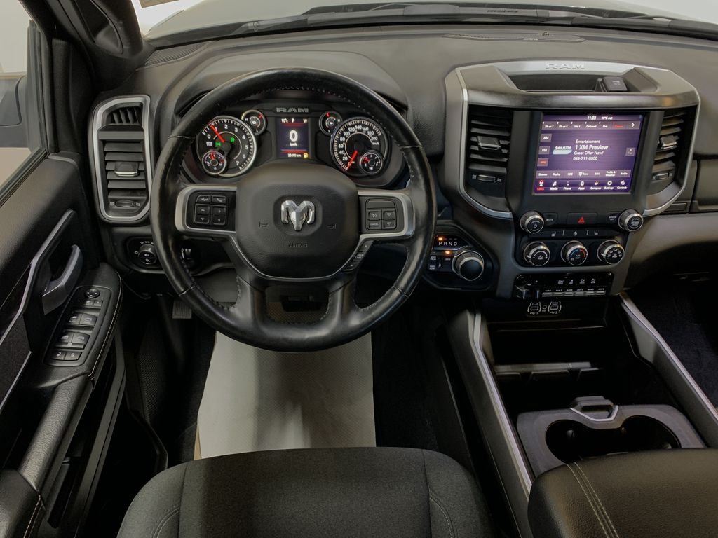 BLACK 2019 Ram 3500 Big Horn - Bluetooth, Remote Start, Backup Cam, Apple CarPlay, XM Strng Wheel: Frm Rear in Edmonton AB
