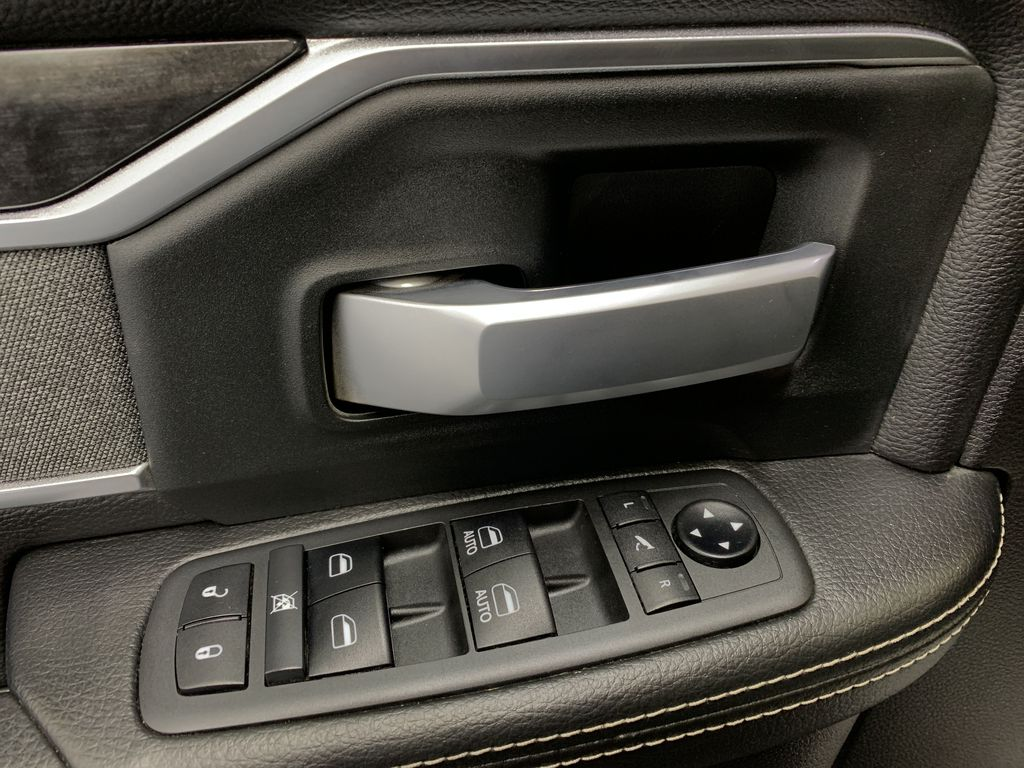 BLACK 2019 Ram 3500 Big Horn - Bluetooth, Remote Start, Backup Cam, Apple CarPlay, XM  Driver's Side Door Controls Photo in Edmonton AB