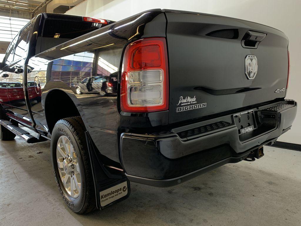 BLACK 2019 Ram 3500 Big Horn - Bluetooth, Remote Start, Backup Cam, Apple CarPlay, XM Left Rear Corner Photo in Edmonton AB
