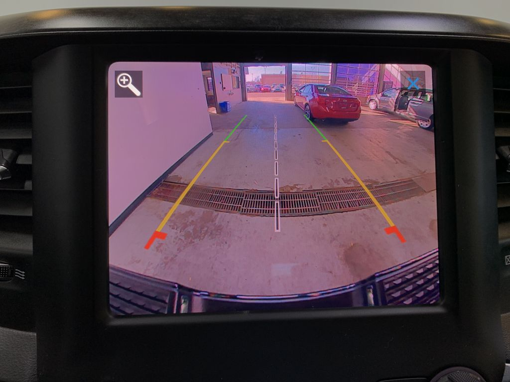 BLACK 2019 Ram 3500 Big Horn - Bluetooth, Remote Start, Backup Cam, Apple CarPlay, XM Backup Camera Closeup Photo in Edmonton AB