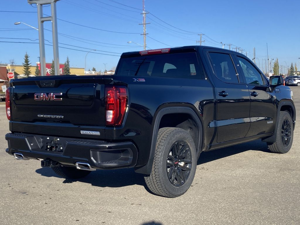 Black[Ebony Twilight Metallic] 2021 GMC Sierra 1500 Right Rear Corner Photo in Edmonton AB