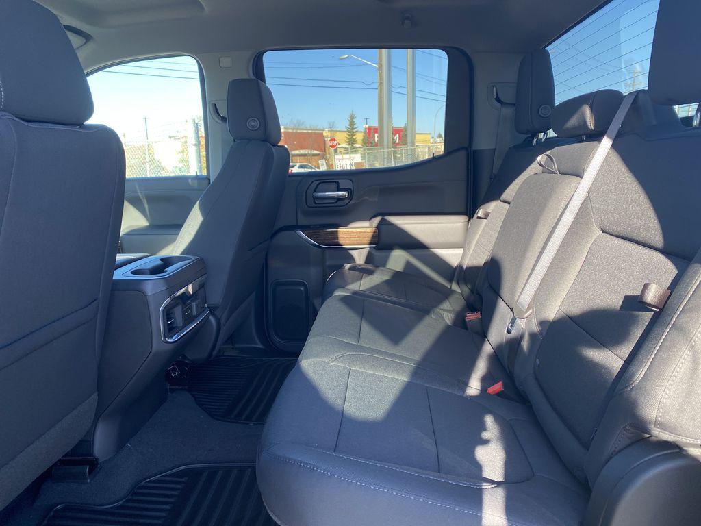 Black[Ebony Twilight Metallic] 2021 GMC Sierra 1500 Left Side Rear Seat  Photo in Edmonton AB