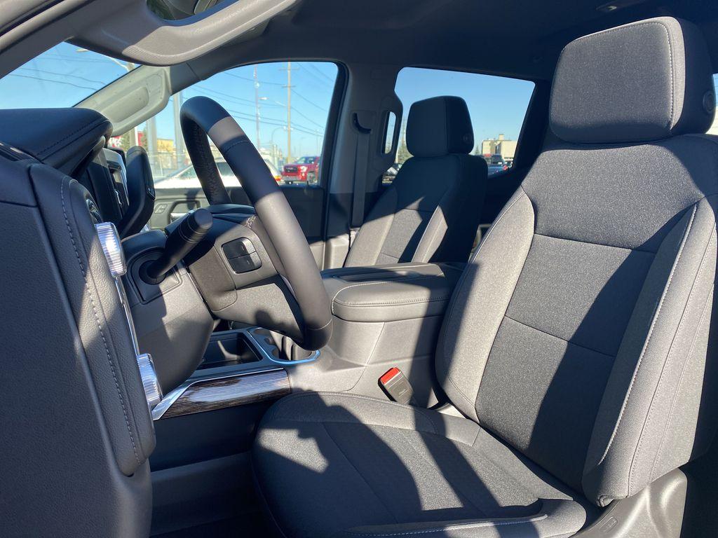 Black[Ebony Twilight Metallic] 2021 GMC Sierra 1500 Left Front Interior Photo in Edmonton AB