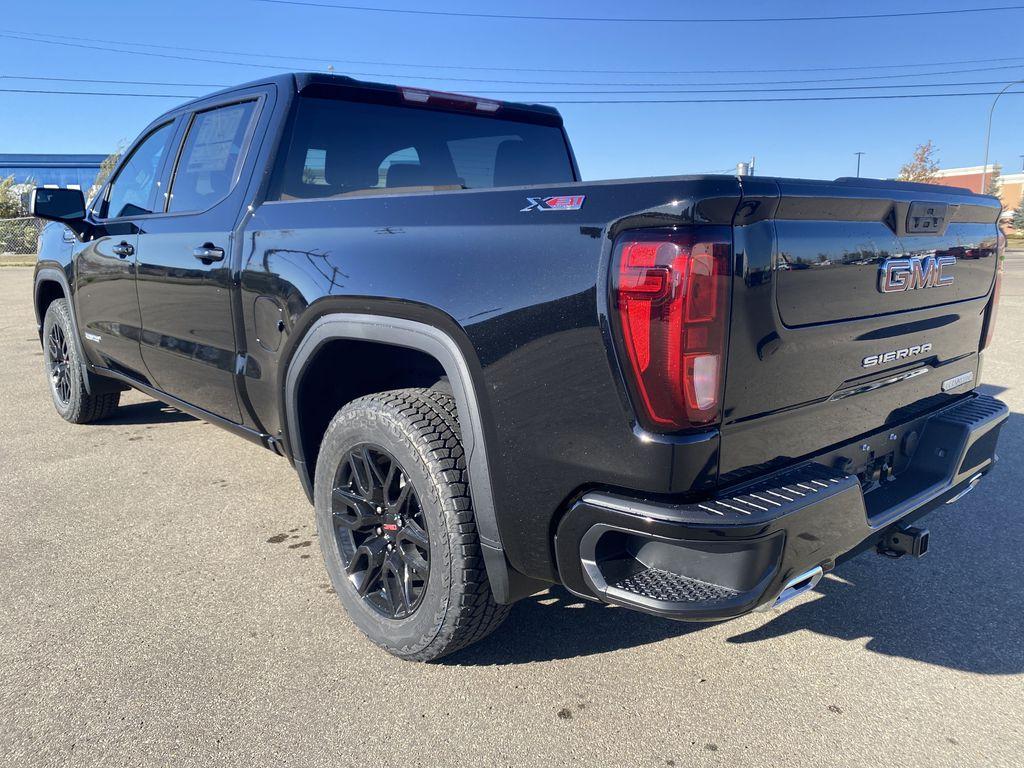 Black[Ebony Twilight Metallic] 2021 GMC Sierra 1500 Left Rear Corner Photo in Edmonton AB