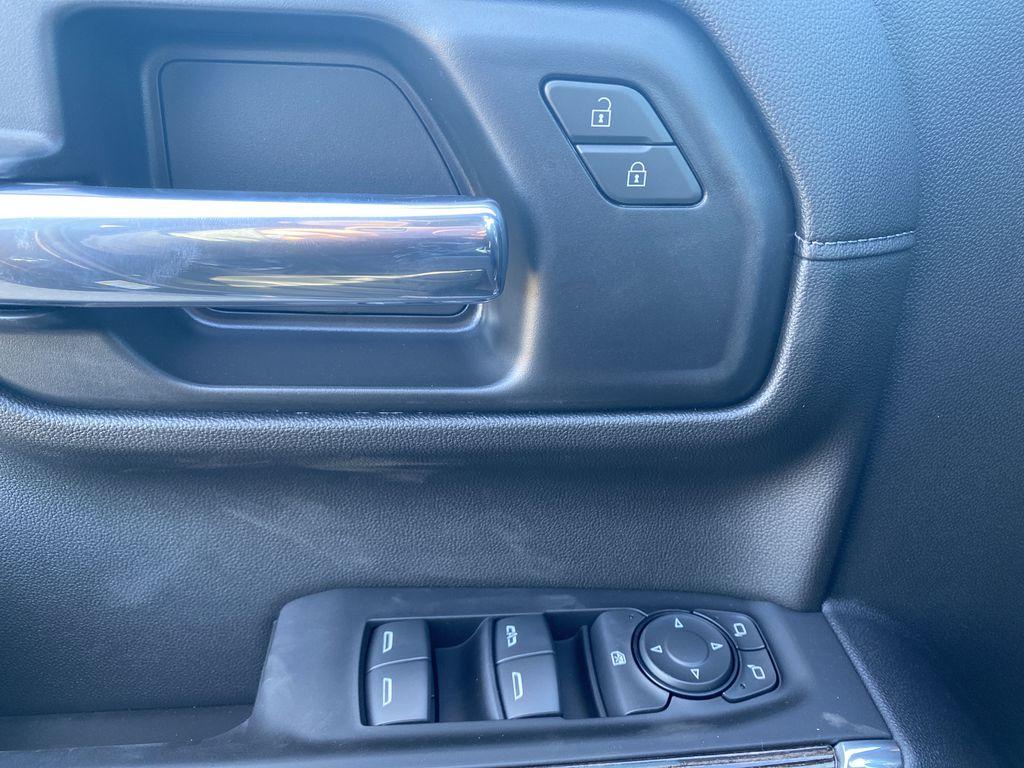 Black[Ebony Twilight Metallic] 2021 GMC Sierra 1500  Driver's Side Door Controls Photo in Edmonton AB