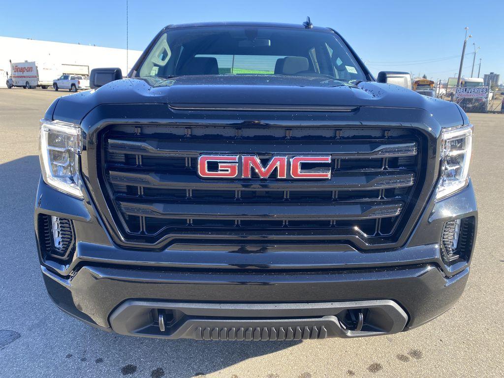 Black[Ebony Twilight Metallic] 2021 GMC Sierra 1500 Front Vehicle Photo in Edmonton AB