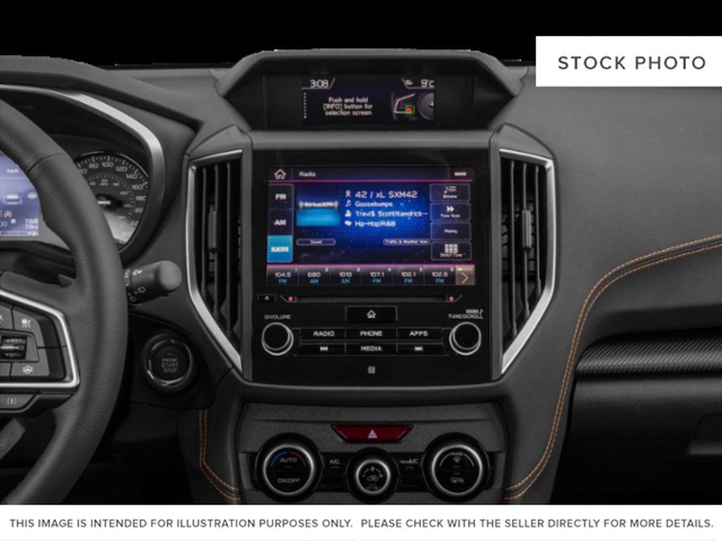 Gray[Cool Grey Khaki] 2021 Subaru Crosstrek Radio Controls Closeup Photo in Lethbridge AB