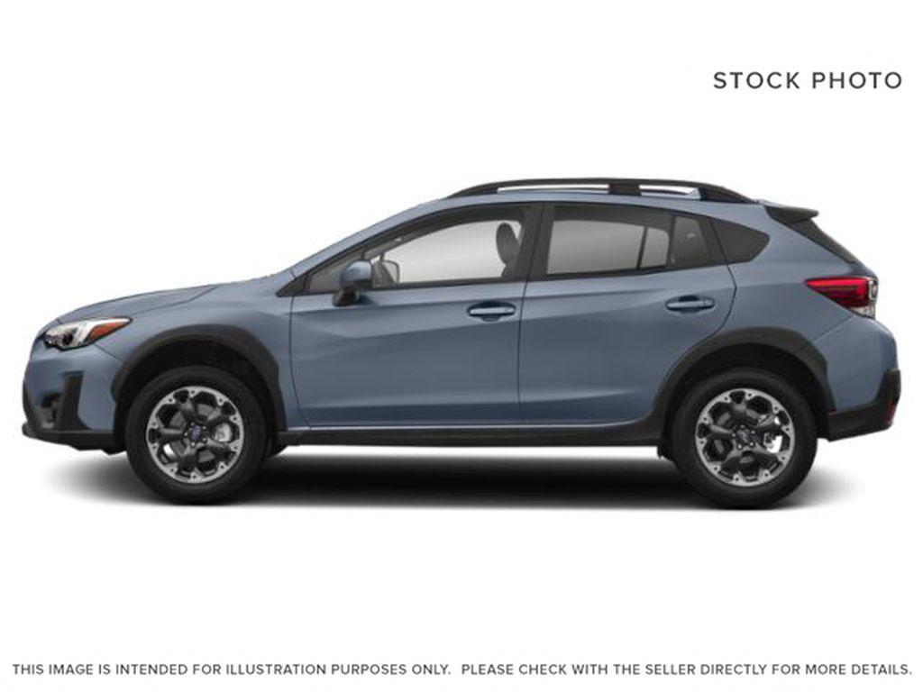 Gray[Cool Grey Khaki] 2021 Subaru Crosstrek Left Side Photo in Lethbridge AB