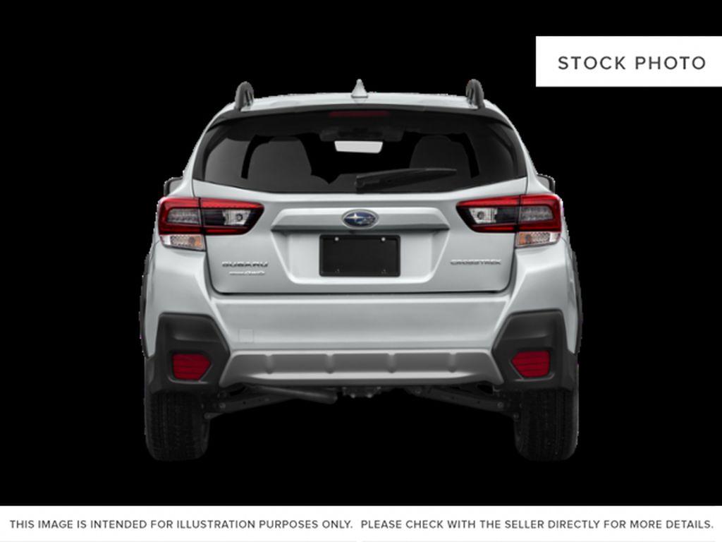 Gray[Cool Grey Khaki] 2021 Subaru Crosstrek Rear of Vehicle Photo in Lethbridge AB