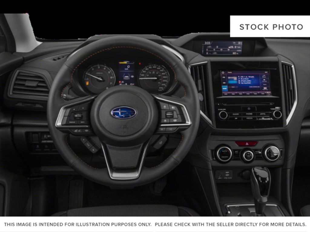 Gray[Cool Grey Khaki] 2021 Subaru Crosstrek Steering Wheel and Dash Photo in Lethbridge AB