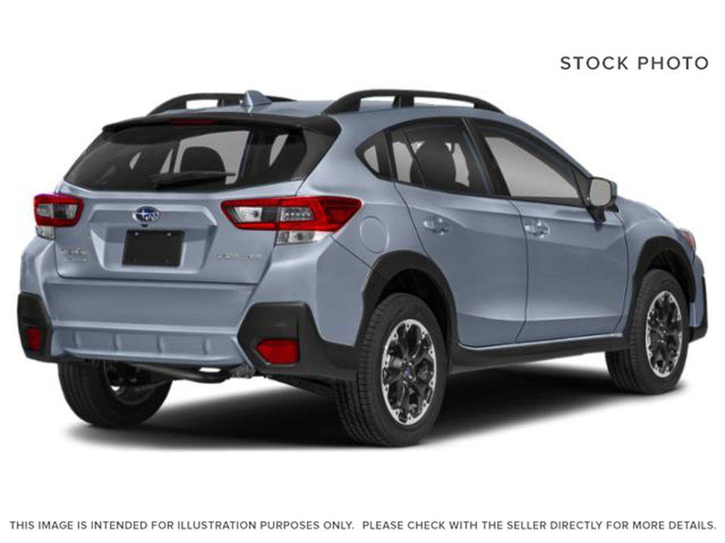 Gray[Cool Grey Khaki] 2021 Subaru Crosstrek Right Rear Corner Photo in Lethbridge AB