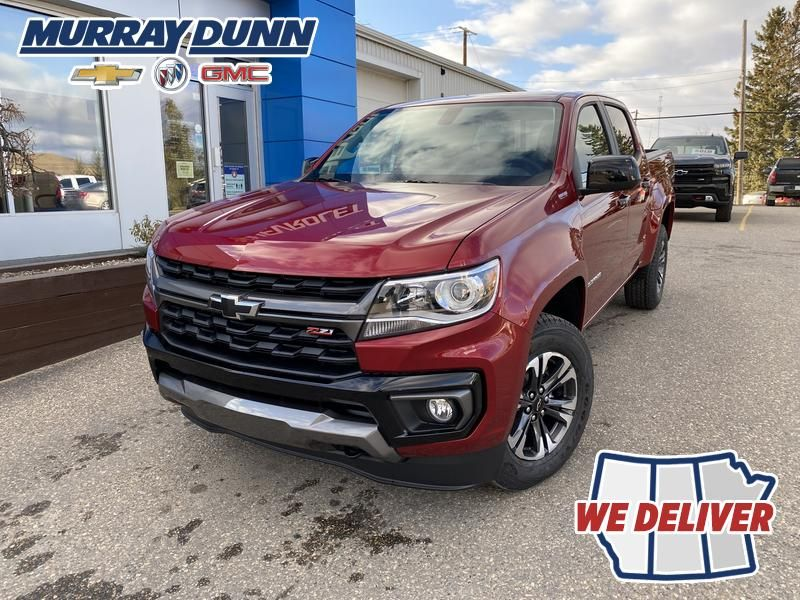 Red[Cherry Red Tintcoat] 2022 Chevrolet Colorado