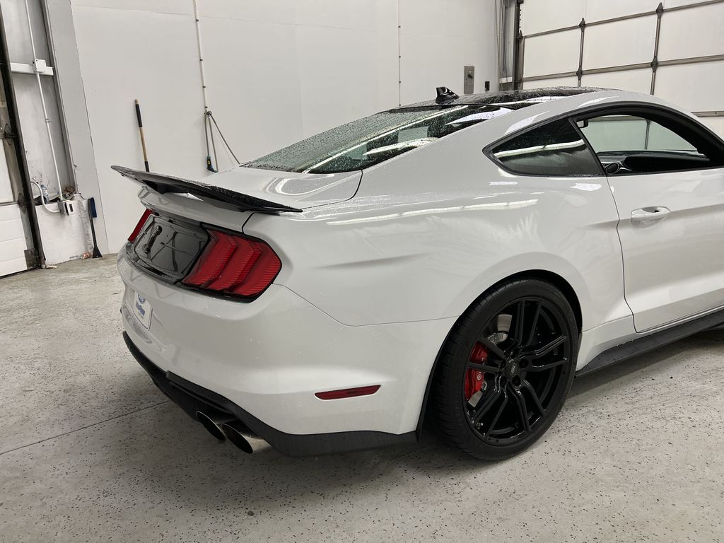 White[Oxford White] 2020 Ford Mustang Right Rear Corner Photo in Dartmouth NS