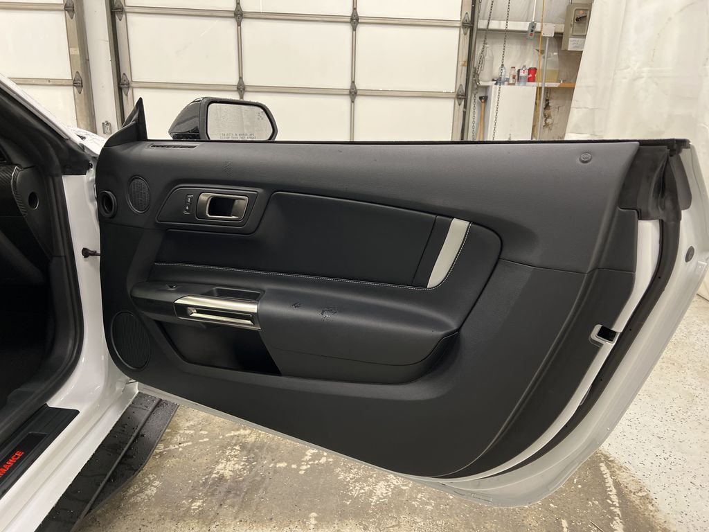 White[Oxford White] 2020 Ford Mustang Right Front Interior Door Panel Photo in Dartmouth NS