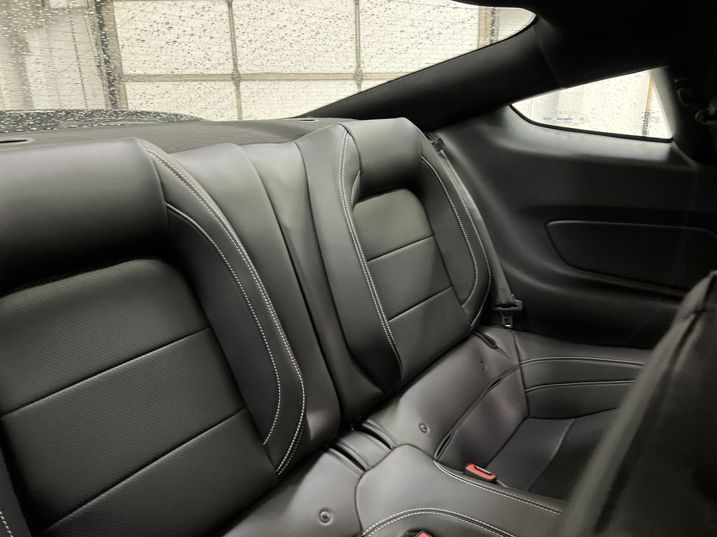 White[Oxford White] 2020 Ford Mustang Right Side Rear Seat  Photo in Dartmouth NS