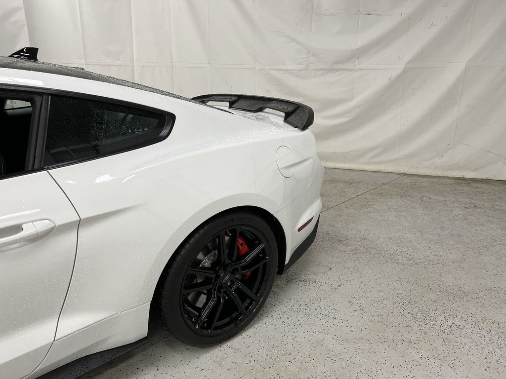 White[Oxford White] 2020 Ford Mustang Left Rear Corner Photo in Dartmouth NS