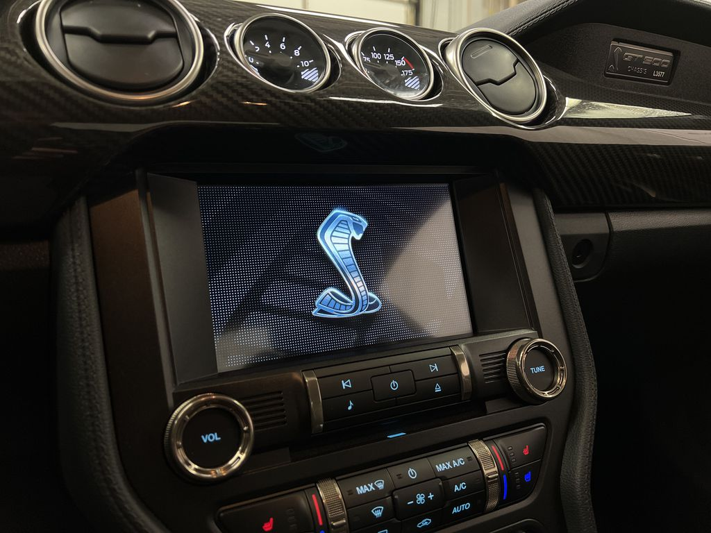 White[Oxford White] 2020 Ford Mustang Radio Controls Closeup Photo in Dartmouth NS