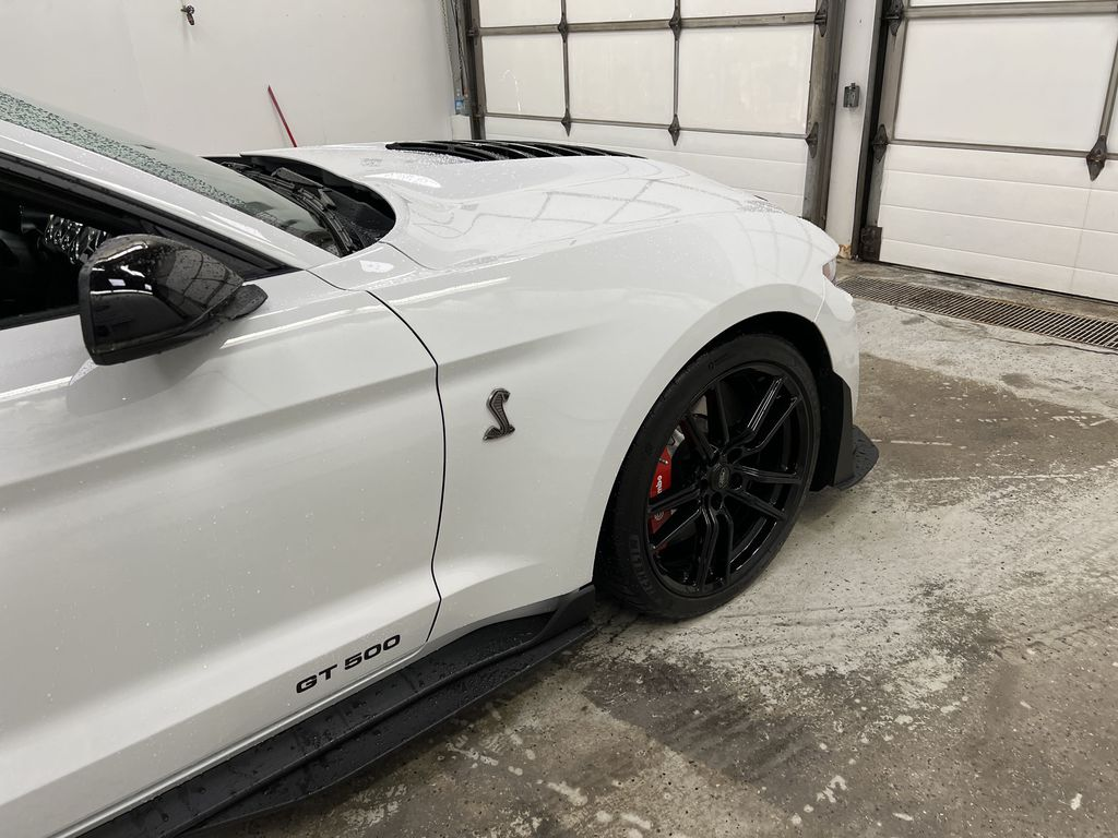 White[Oxford White] 2020 Ford Mustang Right Front Corner Photo in Dartmouth NS