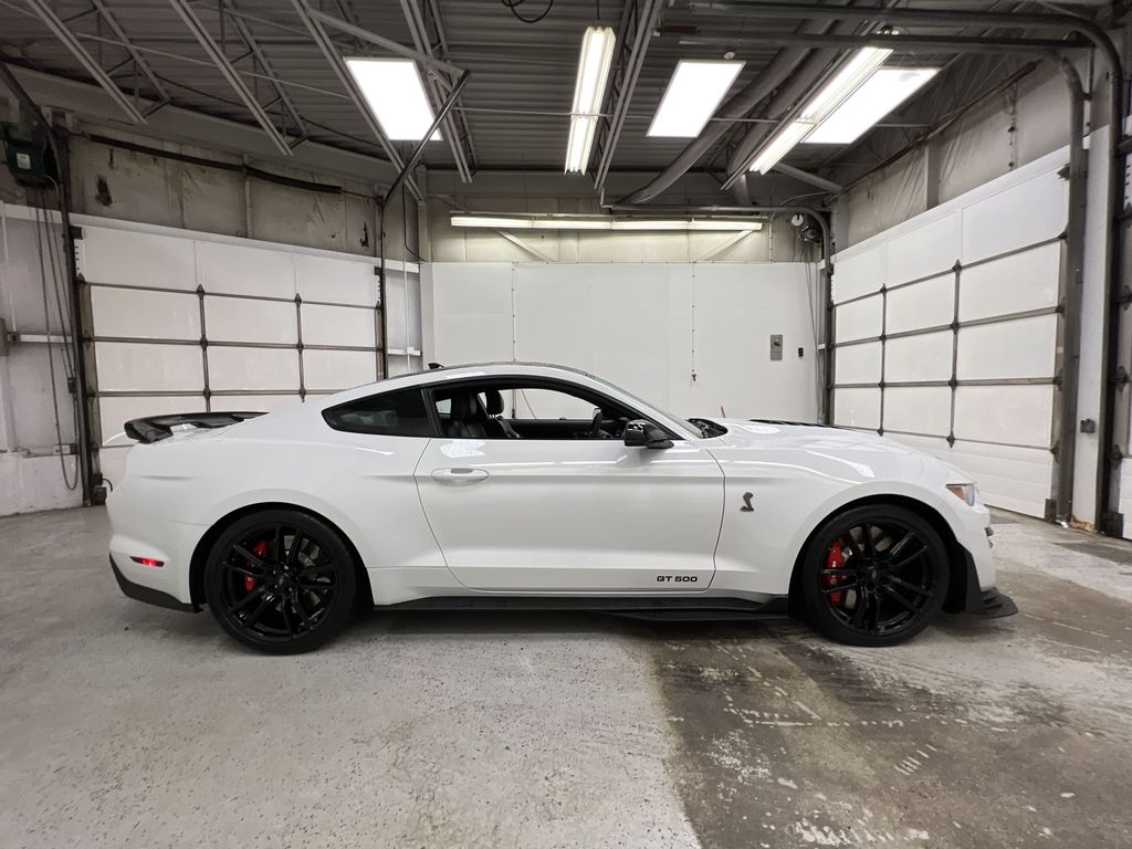 White[Oxford White] 2020 Ford Mustang Right Side Photo in Dartmouth NS
