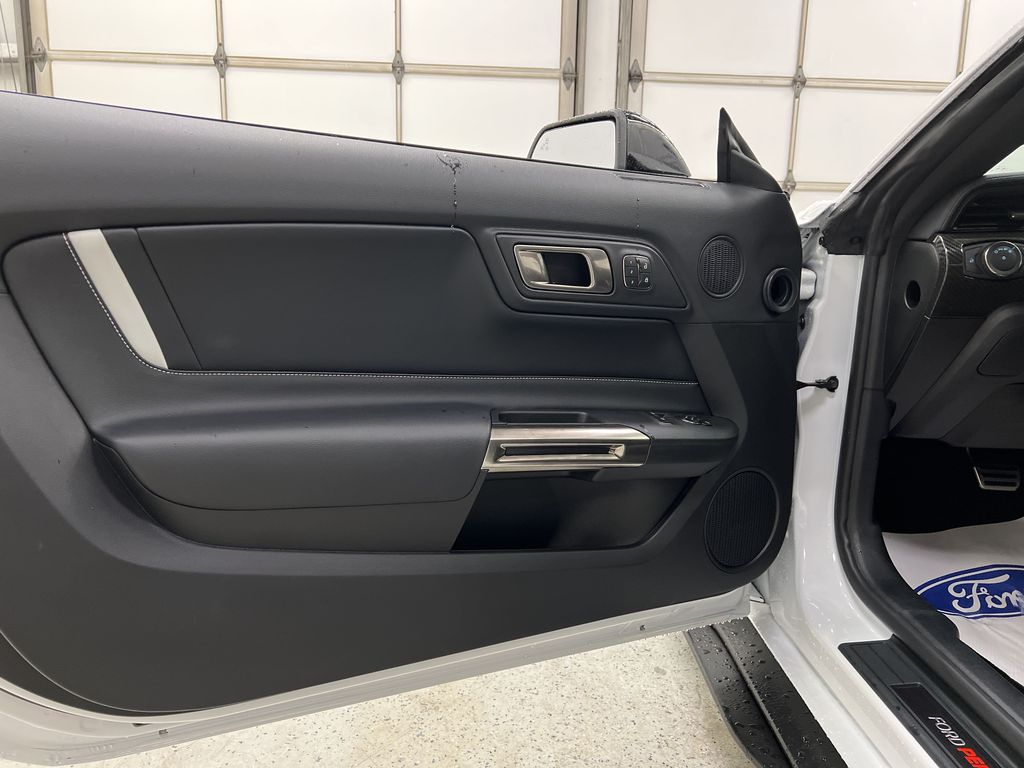 White[Oxford White] 2020 Ford Mustang Left Front Interior Door Panel Photo in Dartmouth NS