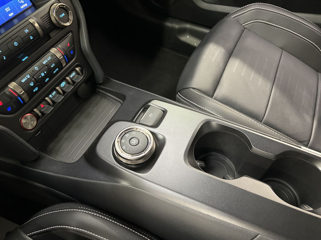 White[Oxford White] 2020 Ford Mustang Center Console Photo in Dartmouth NS