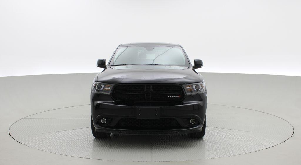 Black[DB Black] 2018 Dodge Durango GT AWD - LOADED, Rear DVD, Sunroof, Navigation Front Vehicle Photo in Winnipeg MB