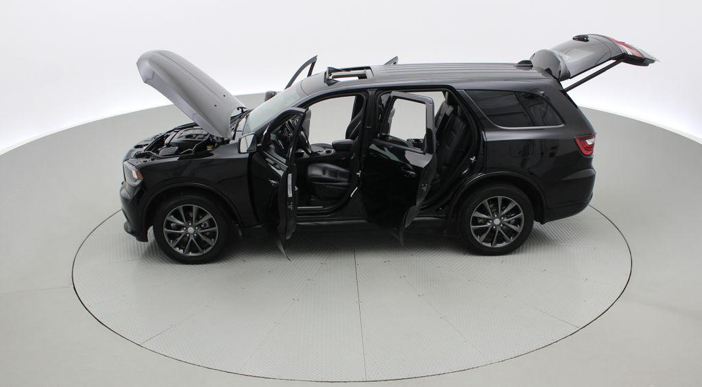 Black[DB Black] 2018 Dodge Durango GT AWD - LOADED, Rear DVD, Sunroof, Navigation Left Side Photo in Winnipeg MB