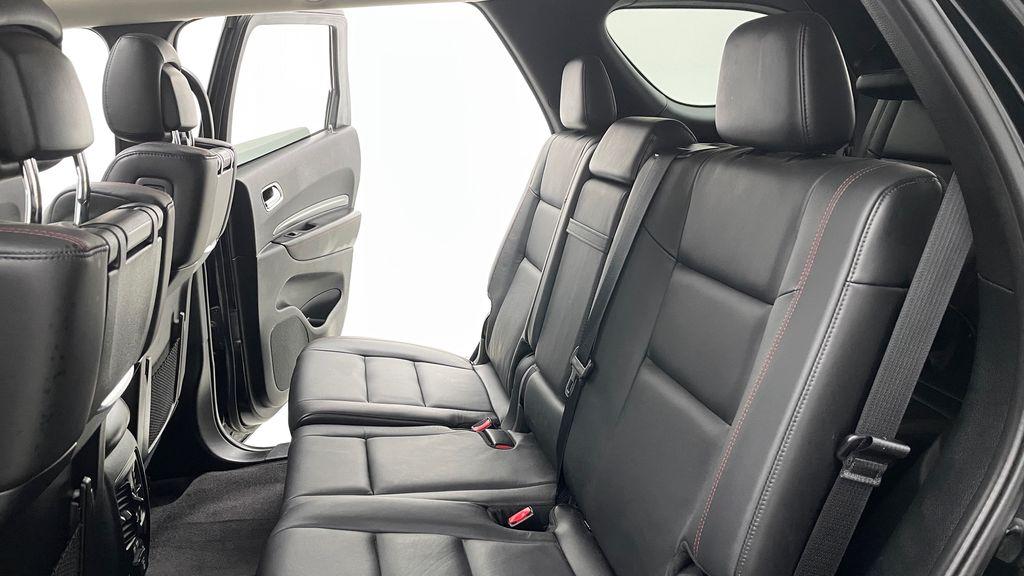 Black[DB Black] 2018 Dodge Durango GT AWD - LOADED, Rear DVD, Sunroof, Navigation Left Side Rear Seat  Photo in Winnipeg MB