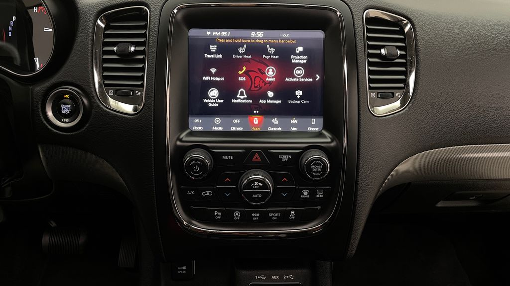 Black[DB Black] 2018 Dodge Durango GT AWD - LOADED, Rear DVD, Sunroof, Navigation Additional Photo 2 in Winnipeg MB