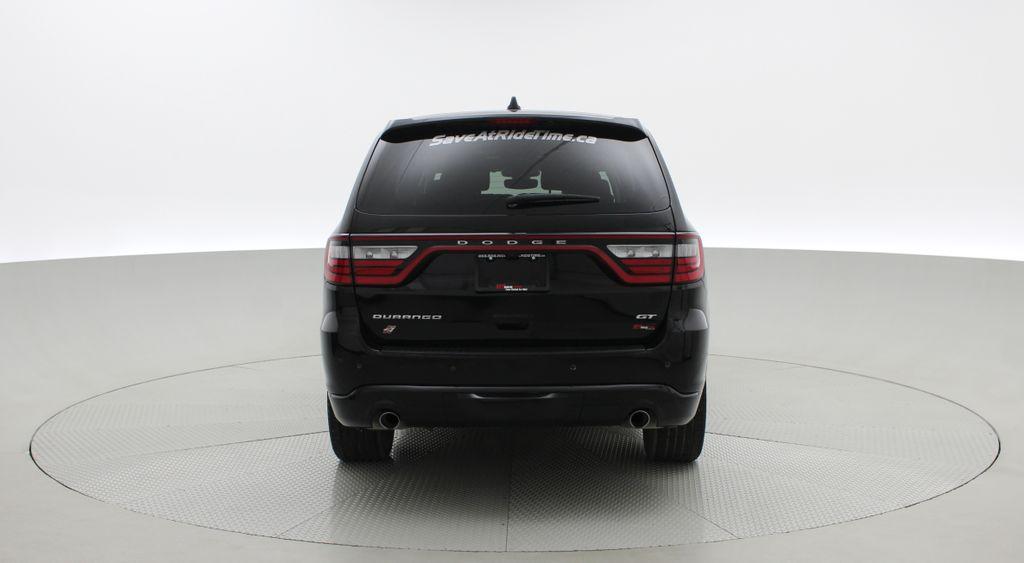 Black[DB Black] 2018 Dodge Durango GT AWD - LOADED, Rear DVD, Sunroof, Navigation Rear of Vehicle Photo in Winnipeg MB