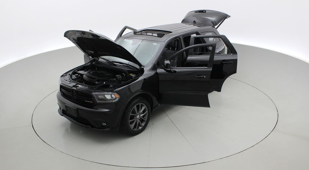 Black[DB Black] 2018 Dodge Durango GT AWD - LOADED, Rear DVD, Sunroof, Navigation Left Front Corner Photo in Winnipeg MB