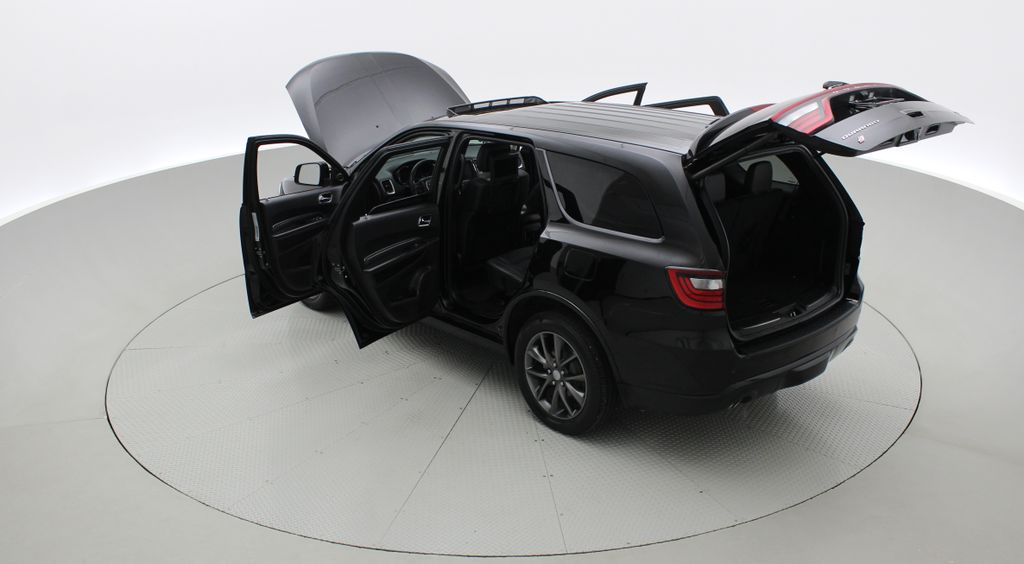 Black[DB Black] 2018 Dodge Durango GT AWD - LOADED, Rear DVD, Sunroof, Navigation Right  Rear Corner Photo in Winnipeg MB