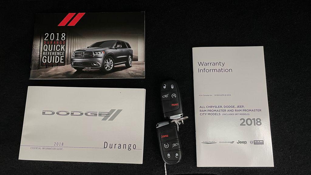 Black[DB Black] 2018 Dodge Durango GT AWD - LOADED, Rear DVD, Sunroof, Navigation Mobile Accessories in Winnipeg MB