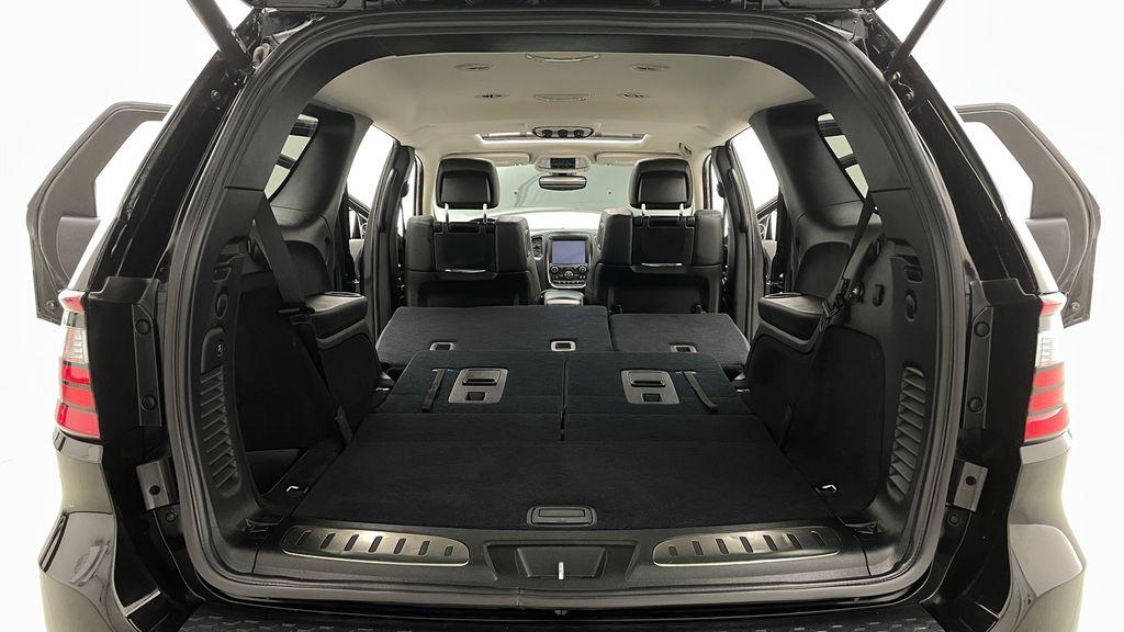 Black[DB Black] 2018 Dodge Durango GT AWD - LOADED, Rear DVD, Sunroof, Navigation Rear Seat: Cargo/Storage Photo in Winnipeg MB