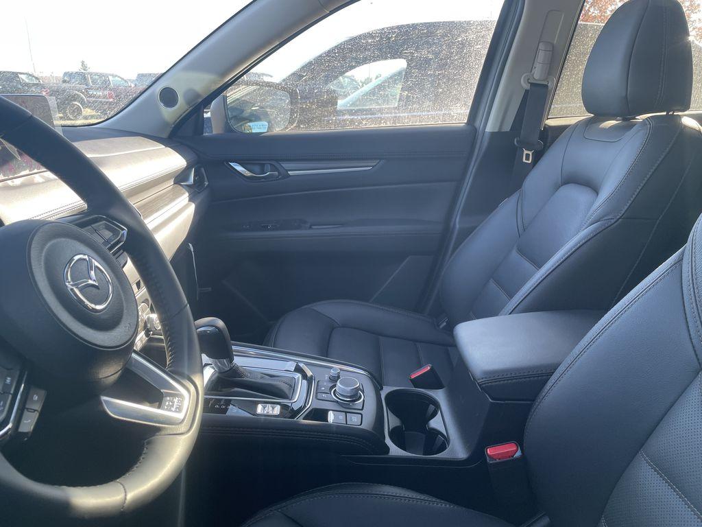 JET BLACK MICA 2021 Mazda CX-5 GT Turbo  Driver's Side Door Controls Photo in Edmonton AB